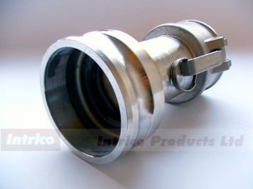 Camlock spool adapter intrico products ltd