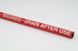 Red 17 Bar Steam Hose